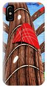 Why Pick On Me Guitar Abstract Tree IPhone Case