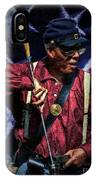 Wi Colored Infantry Sharpshooter - Oil IPhone Case