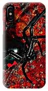 Wicked Widow - Rouge IPhone Case