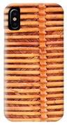 Wicker IPhone Case