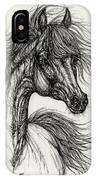 Wieza Wiatrow Polish Arabian Mare Drawing IPhone Case