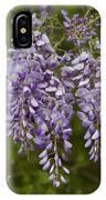 Wild Alabama Wisteria Frutescens Wildflowers IPhone Case