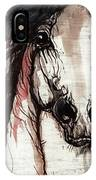Wild Arabian Horse IPhone Case