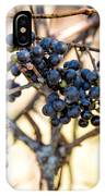 Wild Blue Grapes IPhone Case