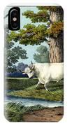 Wild Cattle Of Britain IPhone Case