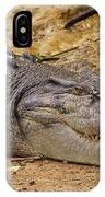 Wild Croc #2 IPhone Case
