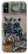 Wild Dogs After The Chase IPhone Case