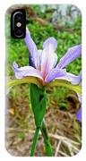 Wild Flag - Iris Versicolor IPhone Case