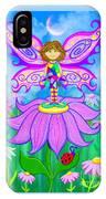 Wild Flower Fairy  IPhone Case