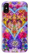Wild Flower Heart IPhone Case