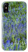 Wild Flowers Blanket IPhone Case