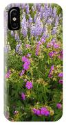 Wild Flowers Display IPhone Case