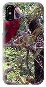 Wild Hawaiian Parrot  IPhone Case