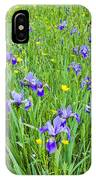 Wild Iris Patch IPhone Case
