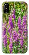 Wild Lavender Flowers IPhone Case