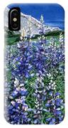 Wild Lupine IPhone Case