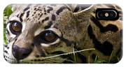 Wild Ocelot IPhone Case