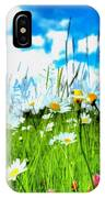Wild Ones - Daisy Meadow IPhone Case