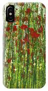 Wild Poppies And Grasses No2 IPhone Case
