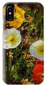 Wild Poppies IPhone X Case