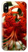 Wild Smokies Lily IPhone Case