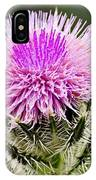 Wild Thistle  IPhone Case