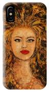 Wild Tigress IPhone Case