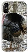Wild Turkey Mnt Zion Ut IPhone Case