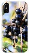 Wildberry Plant IPhone Case