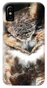 Wilderness Owl IPhone Case