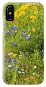 Wildflower Patch IPhone Case