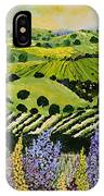 Wildflower Ridge IPhone Case