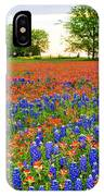 Wildflower Tapestry IPhone Case