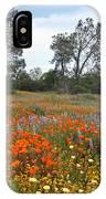 Wildflower Wonderland 2 IPhone Case