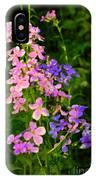 Wildflower Woods IPhone Case