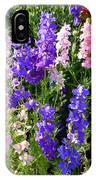 Wildflowers #15 IPhone Case