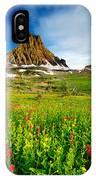 Wildflowers At Logan Pass IPhone Case