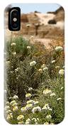 Wildflowers At Mungo National Park IPhone Case