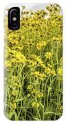 Wildflowers In A Field, Carrizo Plain IPhone Case
