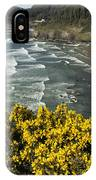 Wildflowers On An Atypical Winter's Day On The Oregon Coast IPhone Case
