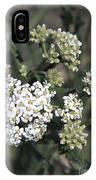 Wildflowers - White Yarrow IPhone Case