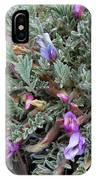 Wildflowers - Woolly-pod Locoweed IPhone Case