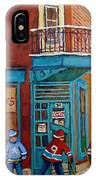 Wilensky Montreal-fairmount And Clark-montreal City Scene Painting IPhone Case