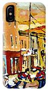 Wilenskys Hockey Paintings Montreal Commissions Originals Prints Contact Artist Carole Spandau  IPhone Case