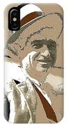 Will Rogers Informal Portrait Unknown Photographer Or Location 1924-2014  IPhone Case