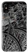 Williamsburg Bikes IPhone Case
