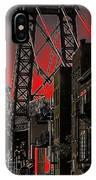 Williamsburg Bridge Abstract IPhone Case