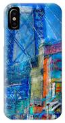 Williamsburg Street Abstract IPhone Case