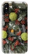 Williamsburg Wreath Squared IPhone Case
