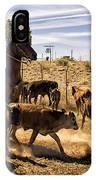 Williamson Valley Roundup 9 IPhone Case
